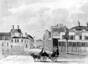Mill Lane, formerly Dog Kennel Row