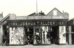 J. T. Allder's Old Building 100 -104 Rushey Green