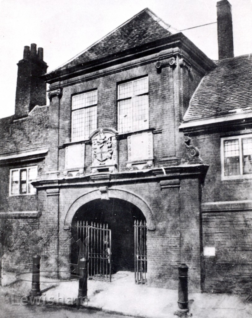 Entrance Gate Trinity Almshouses, Church Street, Deptford