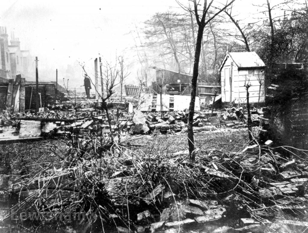 Back Of 10 Weardale Road Xmas 1876