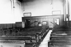 Kingdom Hall. Gospel Hall, Bennett Park, Blackheath, when in use by the Tenth Church of Christ, Scientist.