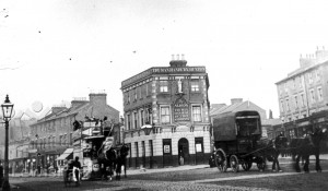 Lewisham High Street With The Albion & Lewis Grove