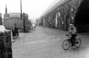 Mechanics Path from Deptford Church St Feb
