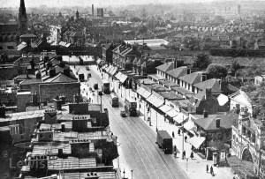Lewisham High Street View Southwards From St Saviour's Campanile
