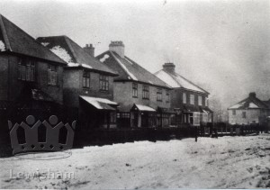 Luffman Road in Winter