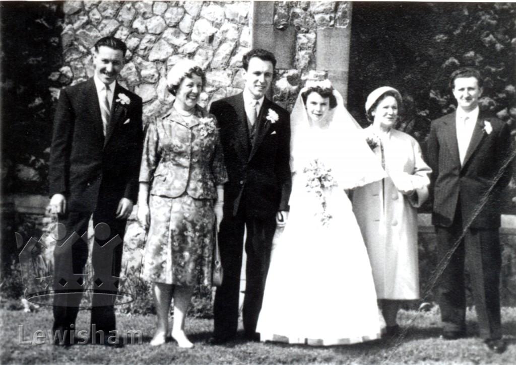 1959 Wedding at St. Augustine's Church