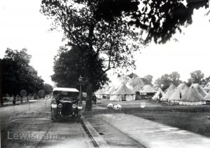 Army Service Corps camp in Grove Park Road