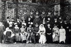 Wedding of Corporal F.C. Fox
