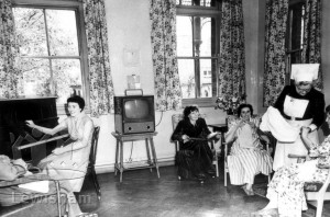 A Day Room At Grove Park Hospital