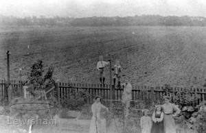 View from rear no.133 Hazelbank Road across Shroffolds Farm