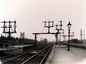 New Cross Station signals