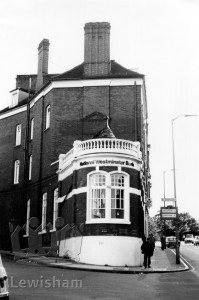 National Westminster Bank, at the junction of Cresswell Park (left), and Blackheath Village.