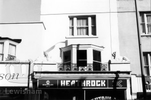 Heathrock Restaurant, no. 28, Montpelier Vale, Blackheath Village.