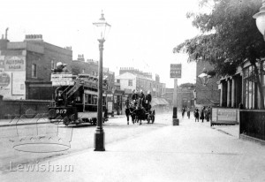 Lewisham Road Showing The Ordnance Arms On The Right