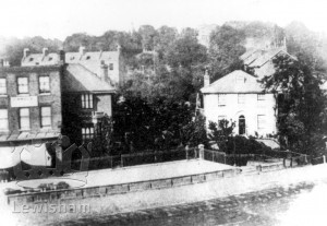 Lewisham High St House On Site Of High Pavement