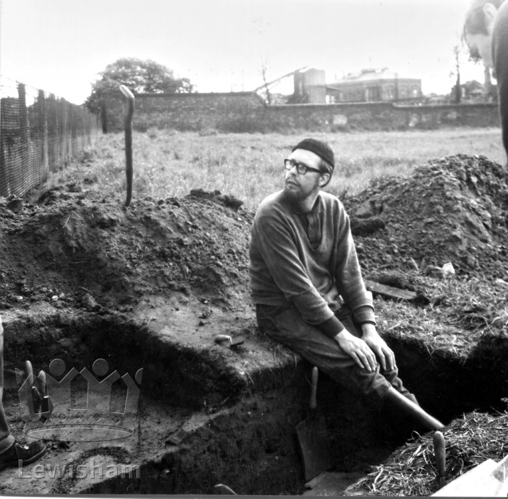 """An archaeological """"dig"""" at Broadmead, Bellingham"""