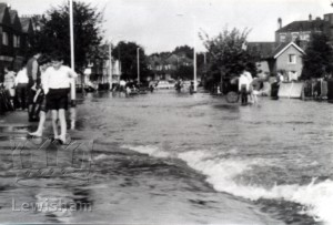 Flooding on Marvels Lane
