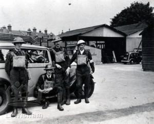 Woodyates Road, ARP Depot, Grove Park