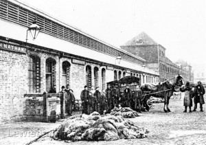 Deptford, Foreign Cattle Market, Near The Slaughter Houses