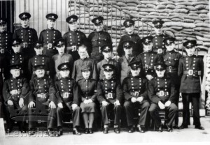 """""""52Y"""" Auxiliary Fire Station Personnel Sandhurst Road School Depot"""