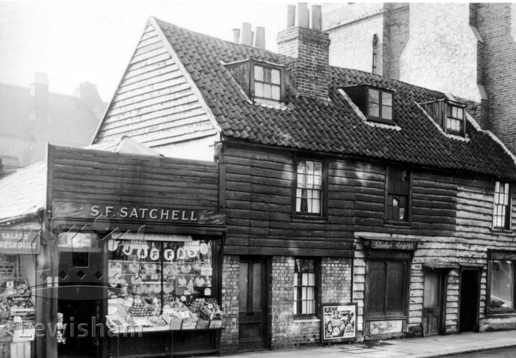 Timbered Shops nos.132 138 Sydenham Road