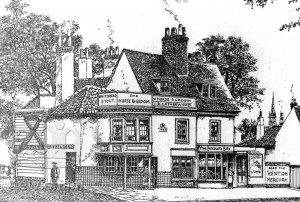 The Coach & Horses, Blackheath Hill From The Drawing By Lloyd Roberts