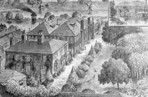 Lewisham Silk Mills Engraving