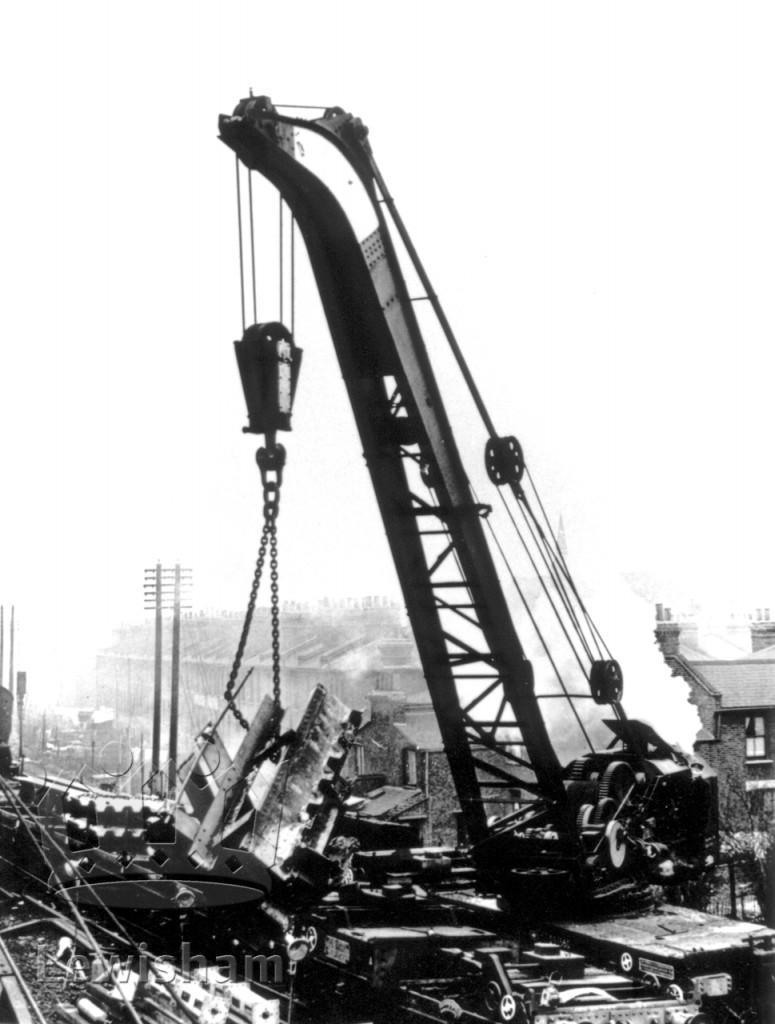 Collision At St John's Station Scene