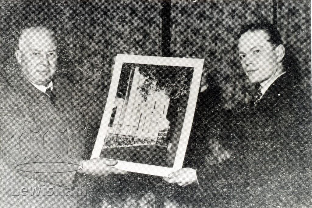 Enlargement of 'Stanstead Lodge'