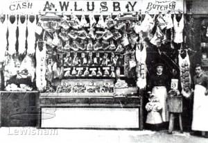 A.W. Lusby Butcher's Shop