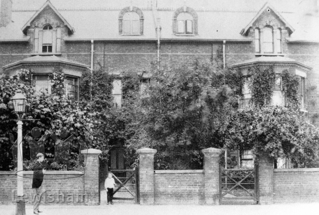 13 Handen Road c.1888 (Stanley Unwin at the gate)