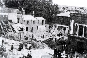 1918 bombing raid, Sydenham Road