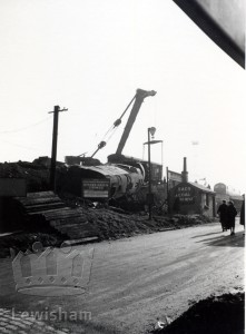 Derailment off St. Mildred's Road