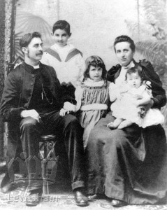 James Elroy & Family