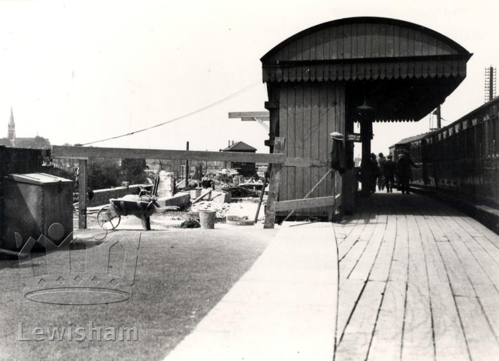 Old/new Lewisham Junction
