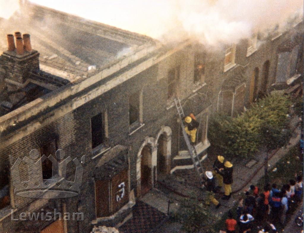 Fire in Woodpecker Road