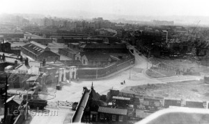 View Of Dockyard Site Prior To Building Of Pepys Estate
