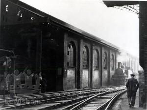 New Cross Railway depot