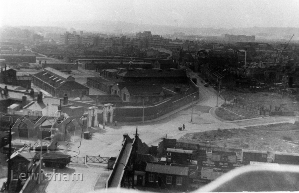 Grove Street, Deptford and the Victualling Yard