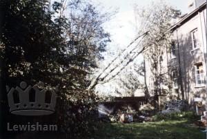 Cliffe Terrace SE8 Storm damage