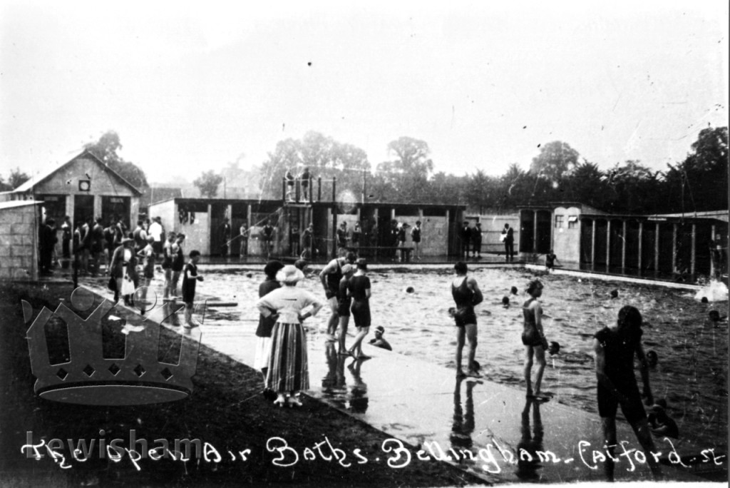 The open-air baths, Bellingham