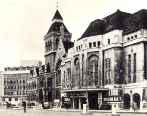 Lewisham Town Hall Prior To Demolition