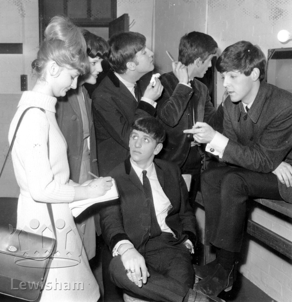 Lewisham Odeon The Beatles Interviewed Backstage