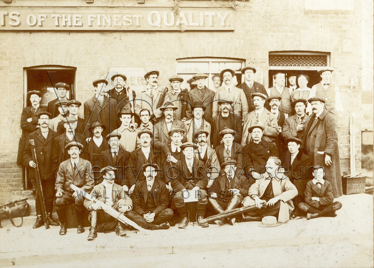 Fishing competition 1914 Victory Pub Ware Herts