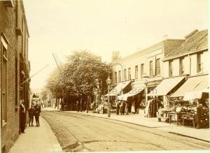 Blue Row July 1895