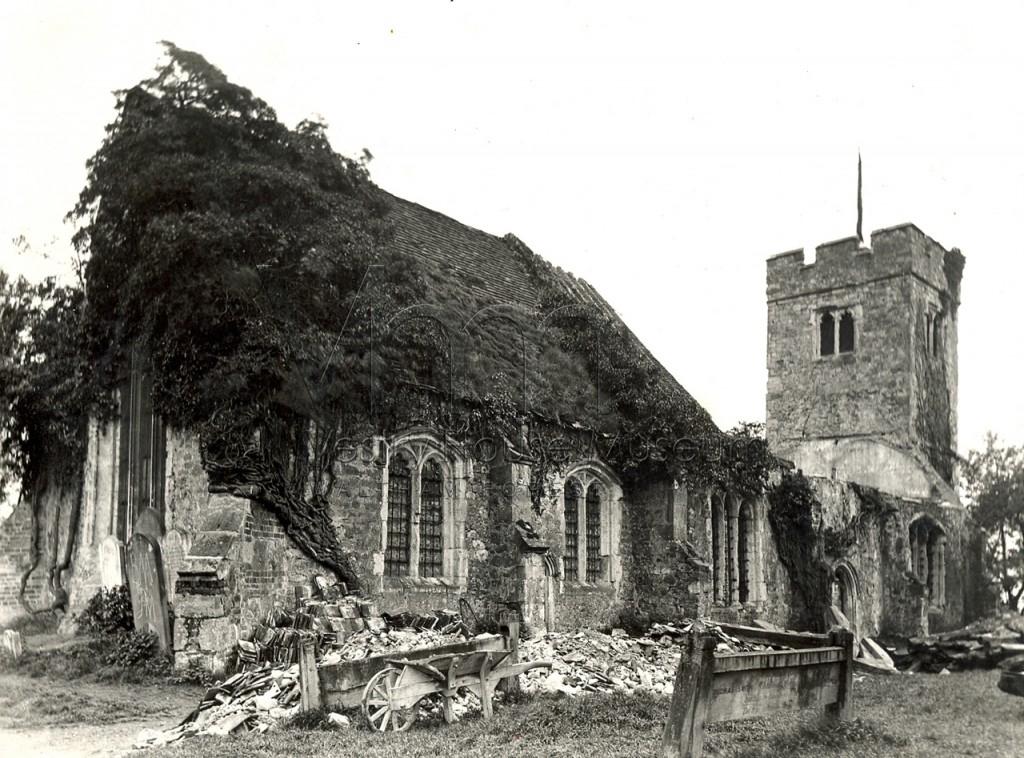 Chingford Old Church c1890
