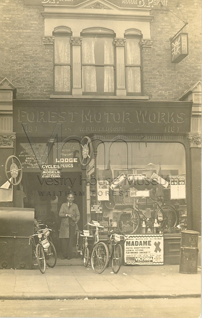 Forest Motor Works, bicycle shop