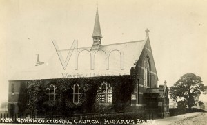 Highams Park Congregational Church c1900
