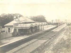 Hoe Street Railway Station 1870
