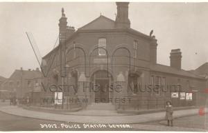 Leyton Police Station c1910